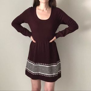 NWT Cloud Chaser Ribbed Sweater Dress I